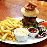 Black Lion Hotel Llanrhystud pub food and menu
