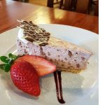 Llanrhystud pub meal dessert menu