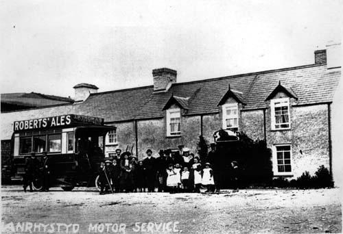 Red Lion Pub Motor Service Llanrhystud